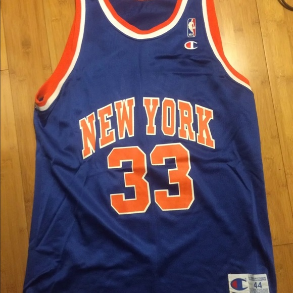 93948ef64 Champion Shirts | New York Knicks Patrick Ewing Jersey 44 | Poshmark